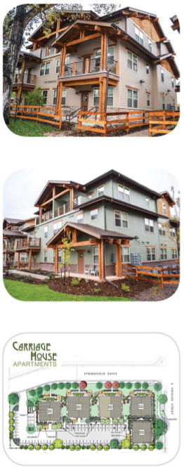 Carriage House Apartment Homes A Catamount Properties Ltd Development